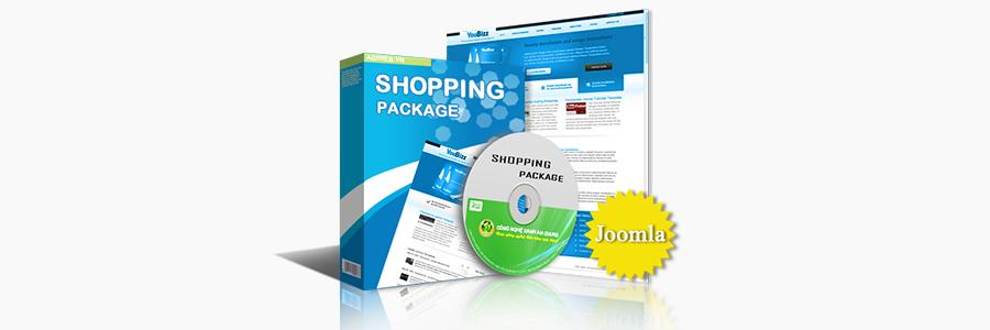 Web bán hàng - Joomla