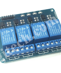 Module 4 Relay With Opto Isolated (5VDC)