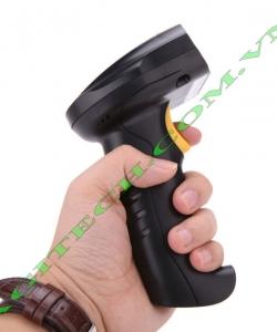High Speed 2.4G Wireless Long Distance Laser Scan Barcode BarCode Scanner Handheld Decoder Reader Gun Supermarket Bank Warehouse